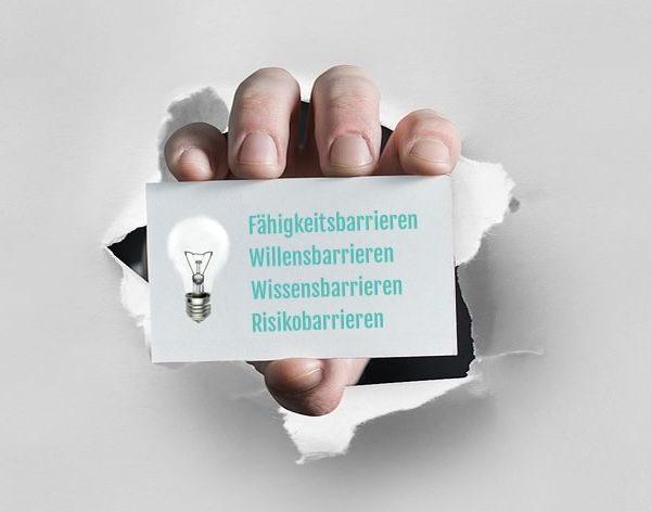 Barrieren im Ideenmanagement IdeaChamp Innovationsblog